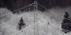 EDF, 3Mo, RTE, électrique, électricité, pylone, hiver, neige, froid, intempéries, météo, fourniture, énergie