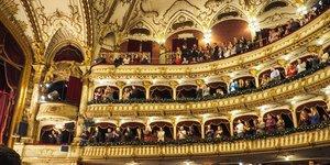 Illustration théâtre, salle de spectacle, comédie, culture