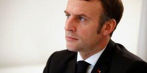 Macron a confiance dans la force de la democratie aux usa