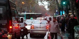 Paris, trafic, embouteillage