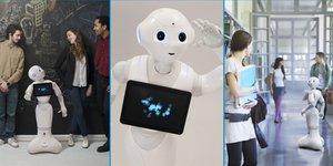 Aldebaran présente ses robots humanoïdes à Osons la France