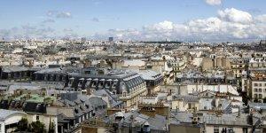 Paris Immobilier toits ville logement hausse des prix des loyers des ventes