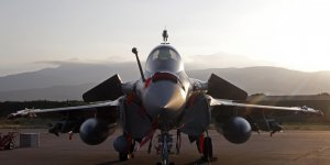 Opex Rafale base de Solenzara en Corse pour les opérations en Libye