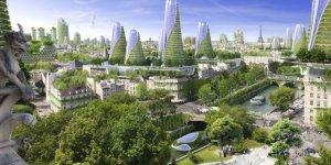 bâtiment vert paris
