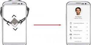 Liva, le bracelet qui continet vos données d'identité et de santé