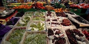 Les fruits et legumes au plus haut en france