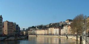 Lyon, les bords de Saône