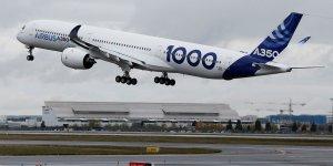 Premier vol du nouvel airbus a350-1000