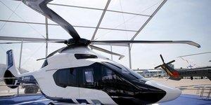 Le h160 d'airbus helicopters servira de base au hil