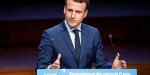 Macron et le pen a egalite au 1er tour