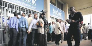 Ecobank banque agence client