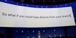 Facebook veut connecter les cerveaux pour communiquer par la pensée (conférence annuelle, regina dugan,  building 8)