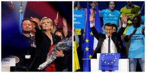 Emmanuel Macron et Marine Le Pen se sont qualifiés au second tour de l'élection présidentielle. Un résultat conforme aux sondages, mais différents de celui pronostiqué par les experts du big data.