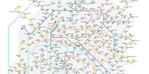 Carte métro paris investissement locatif