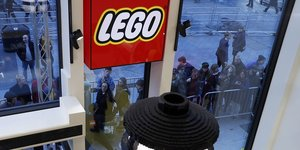 La plus grande boutique de Lego à Londres