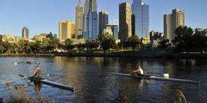 Melbourne, Australie, 2012