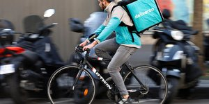 Deliveroo coursier