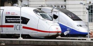 TGV Alstom, ICE Siemens,