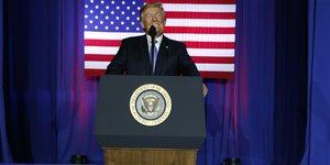 Trump veut baisser l'impot sur les societes et sur les revenus des riches