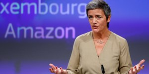 Margrethe Vestager, Luxembourg, Amazon, Concurrence, Commission,