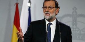 Rajoy va dissoudre l'executif regional de catalogne, demande des elections anticipees