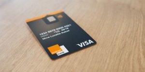 Orange Bank Visa carte