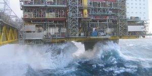 pétrole, plateforme offshore, Rig 1,  Mer du Nord, gaz, exploration, extraction,