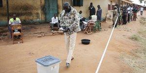Ouganda élections 2016