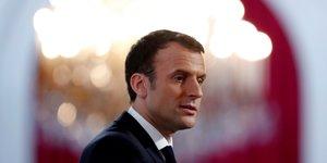Macron chute de six points dans le barometre ifop