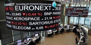 Euronext, a suivre a la bourse de paris