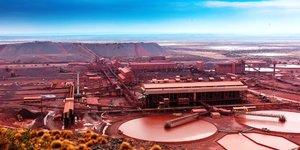 Mine Sishen Kumba Iron Ore Mine Afrique du Sud