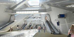 Eole, gare Porte Maillot, Grand Paris Express,