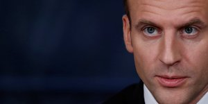 Macron preoccupe par les droits de douanes sur l'acier
