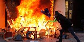 gilets jaunes: regain de violences au 18e samedi de mobilisation