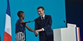 Emmanuel Macron Lyon