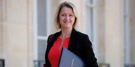 Barbara Pompili, ministre de la Transition écologique, le 7 juillet 2020 à l'Élysée