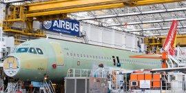 Chaîne d'assemblage A320