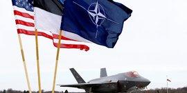Deux chasseurs furtifs f-35 deployes en estonie