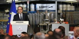 François Hollande, Liebherr Aerospace
