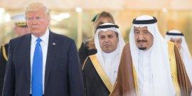 Trump entame son premier deplacement a l'etranger a ryad