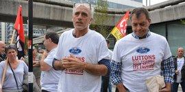 Philippe Poutou et Gilles Lambersend