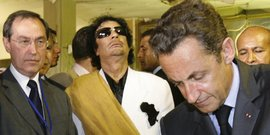 Takieddine Sarkozy Guéant kadhafi