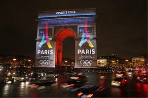 Arc de Triompe Jeux Olympiques 2024