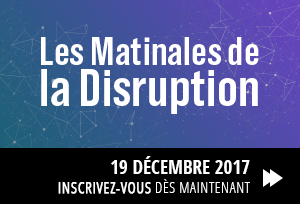 Matinale de la disruption