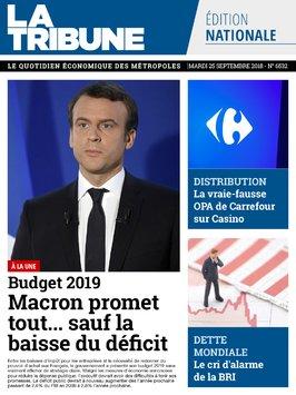 edition quotidienne du 25 septembre 2018