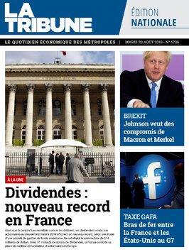 edition quotidienne du 20 août 2019