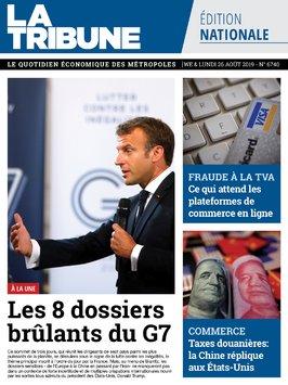 edition quotidienne du 24 août 2019
