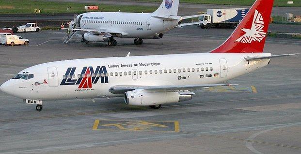 mozambique LAM avion arien