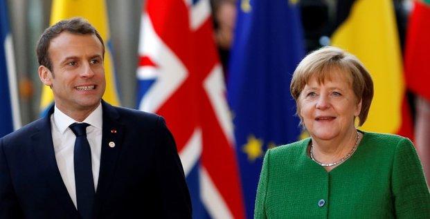 Zone euro: macron veut approfondir le travail avec berlin