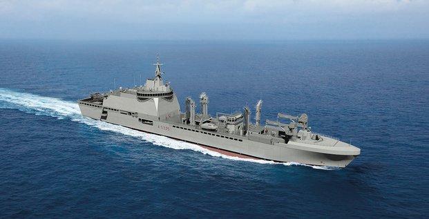 pétrolier ravitailleurs Marine nationale Naval Group STX